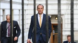Foreign Secretary Dominic Raab, who is taking charge of the Government's response to the coronavirus crisis after Prime Minister Boris Johnson was admitted to intensive care (Stefan Rousseau/PA)