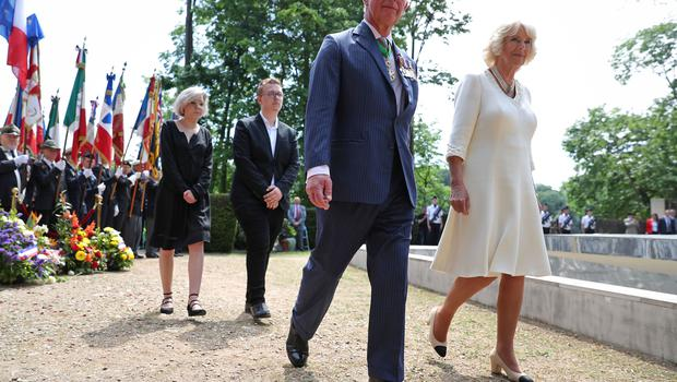 Royal visit to France and Greece – Day Two