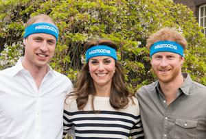 William, Kate and Harry promoting their Heads Together Mental Health campaign (The Royal Foundation)