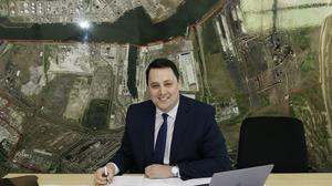 Ben Houchen, the Tory Tees Valley elected mayor (Tees Valley Combined Authority)
