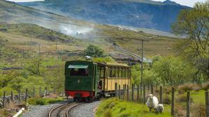 A Snowdon Mountain Railway locomotive and carriage (Andy Kelvin/PA)