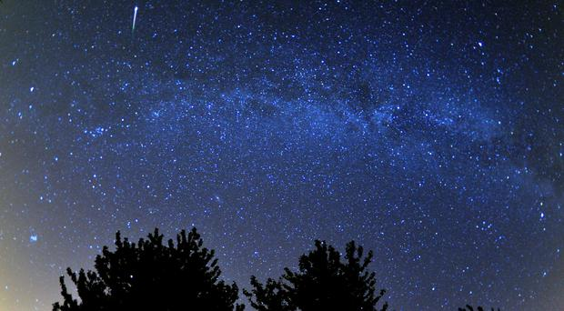 The Quadrantid meteor shower is expected to be visible until dawn (Tim Ireland/PA)