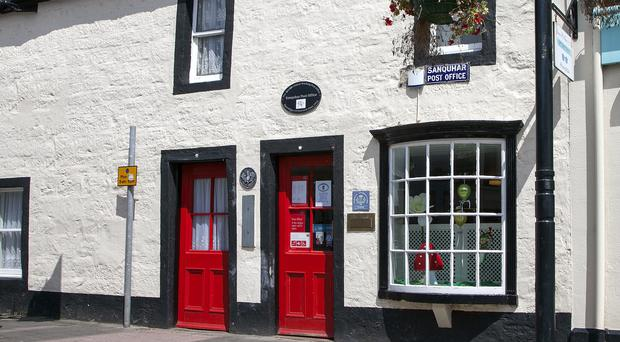 Sanquhar Post Office (Post Office/PA)