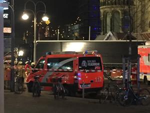 Twelve people were killed in the centre of Berlin at Christmas by a man driving a lorry (Claire Hayhurst/PA)