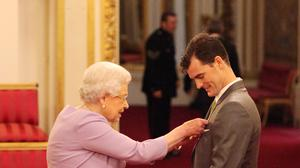 Jamie Murray was rewarded for services to his sport and charity