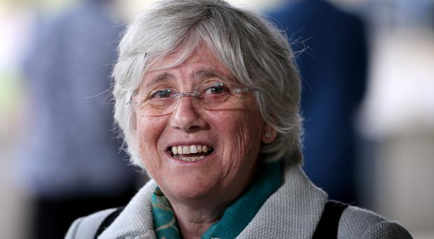 Clara Ponsati will hand herself into police on Thursday. (Jane Barlow/PA Wire/PA Images)