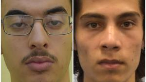 Hashem Abedi (left) and Ahmed Hassan (GMP/Met Police/PA)