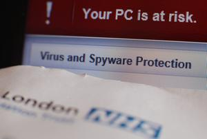 WannaCry ransomware hit some NHS trusts in 2017 (Yui Mok/PA)