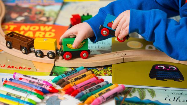 Under the Government's plans, all three and four-year-olds in England will be entitled to 30 free hours of childcare a week (Dominic Lipinski/PA)