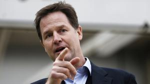 """Nick Clegg will say people's careers should not be blighted because of a """"youthful mistake"""""""