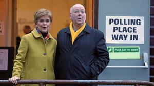 First Minister Nicola Sturgeon and her husband, SNP chief executive Peter Murrell are on the witness list produced by the Committee on the Scottish Government Handling of Harrassment Complaints. (Andrew Milligan/PA)