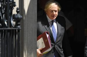 Boris Johnson said he lost weight while in intensive care (Stefan Rousseau/PA)