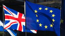 Hundreds of people will gather at locations across Northern Ireland to either protest or celebrate the UK formally leaving the EU tonight (stock photo)