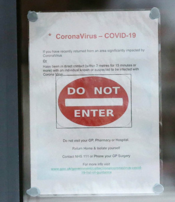 Pharmacies have warned people with coronavirus not to visit because access will be restricted