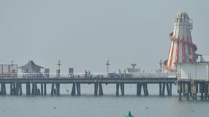 Clacton Pier in Essex has been crowned as Pier of the Year 2020 by the National Piers Society (Nick Ansell/ PA)