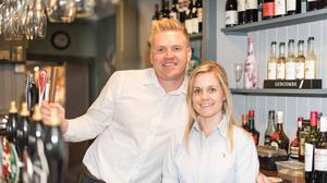 Mark Holmes and his wife Laura run three restaurants on the Isle of Wight (Mark Holmes)