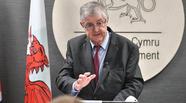 First Minister of Wales Mark Drakeford (Ben Birchall/PA)