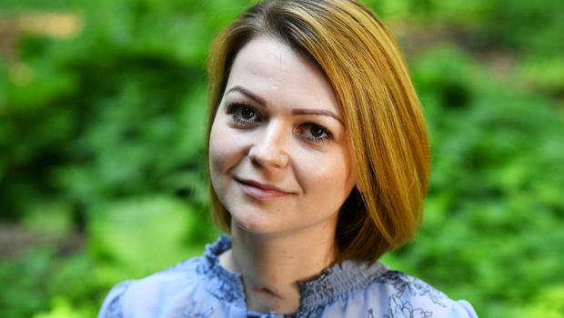Yulia Skripal the daughter of Russian spy Sergei Skripal (Dylan Martinez/PA)