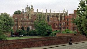 Two Cabinet ministers have clashed over whether prestigious public school Eton College should admit girls (Tim Ockenden/PA)
