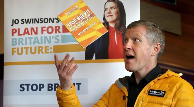 The party leader has described the Lib Dems as a party of 'hope' (Andrew Milligan/PA)