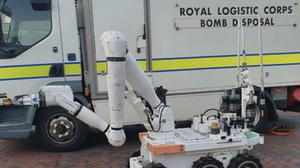 The Army bomb squad was called to deal with the devices on Coronation Road, Tipton (West Midlands Police/PA)