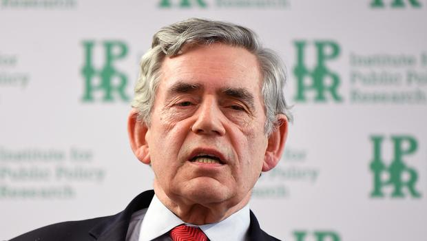 Gordon Brown was the first prime minister to agree to a leaders' debate (Victoria Jones/PA)