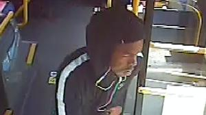 Police want to speak to a man in connection with the robbery (Metropolitan Police/PA)