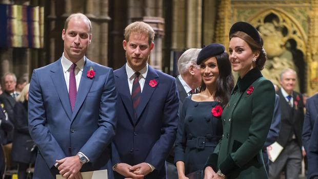 The Cambridges have removed the Sussexes from their foundation's name (Paul Grover/Daily Telegraph/PA)