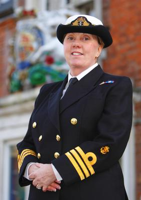 Captain Carol Betteridge, a former commanding officer at Camp Bastion in Afghanistan and now works for the Help for Heroes charity (Chris Ison/PA)