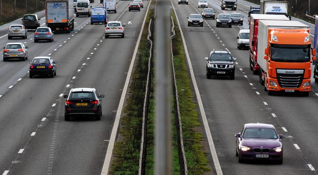 RAC research suggests 22.8 million leisure trips are being made by car between Boxing Day and Saturday (Rui Vieira/PA)