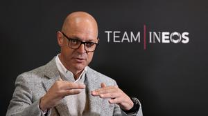 Team Ineos principal Sir Dave Brailsford has helped the chemical giant distribute hand sanitiser to NHS hospitals (Martin Rickett/PA)
