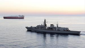 HMS Montrose was involved in the latest incident (MoD/AP)