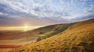 South Downs National Park in East Sussex ( Guy Edwardes/PA)