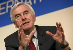 Shadow Chancellor of the Exchequer John McDonnell. (PA)