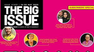 A Big Issue front cover (Big Issue/PA)