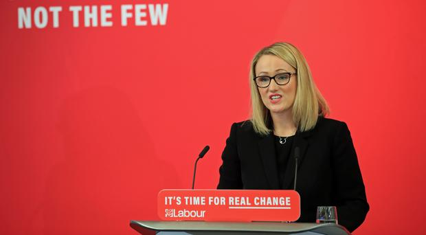 Shadow business secretary Rebecca Long-Bailey (Peter Byrne/PA)