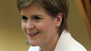 The First Minister said social media gives sexists more access to female politicians (Fraser Bremner/Scottish Daily Mail/PA)