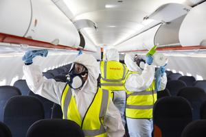 EasyJet has introduced new safety and wellbeing measures for customers and crew (Matt Alexander/PA)
