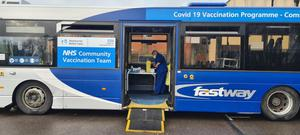The bus will visit hard to reach communities (Brighton and Hove Buses/PA)