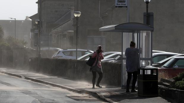 Police said there is a high risk of disruption due to Storm Dennis (Andrew Milligan/PA)