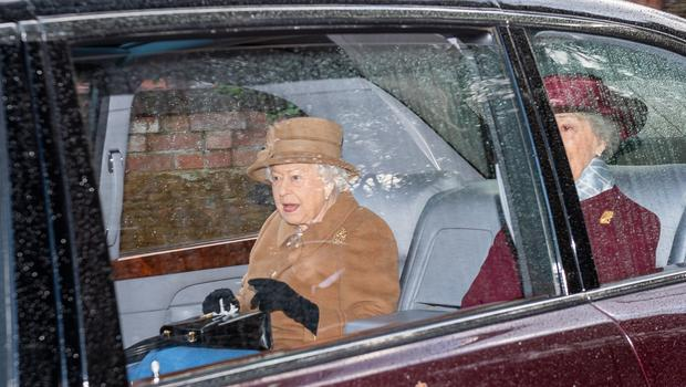 The Queen attending church in Sandringham the day before the summit (Joe Giddens/PA)