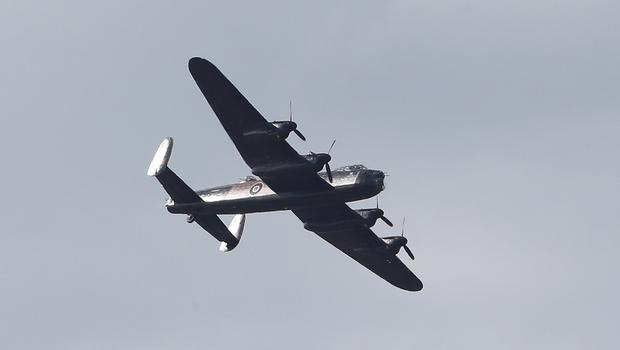 Thousands of spectators are expected to visit the dam to watch the aircraft fly past despite the Lancaster Bomber no longer taking to the skies (Peter Byrne/PA)