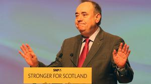 Alex Salmond has resigned as Scotland's First Minister
