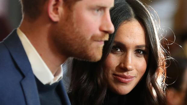 The Duke and Duchess of Sussex in February 2018 (Andrew Milligan/PA)