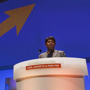 Baroness Lawrence was given a standing ovation at the TUC Conference