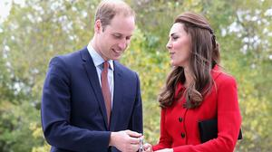 The Duke and Duchess of Cambridge are visiting a Welsh oil refinery