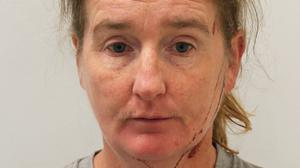 Natasha Welsh, 43, who has been found guilty of stabbing her husband Martin Welsh (Met Police/PA)