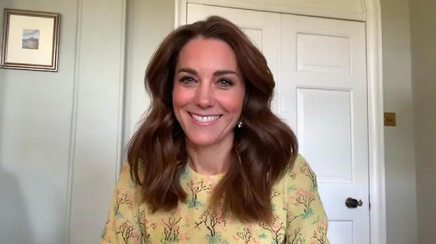 Kate talked about her new photographic project on ITV's This Morning (Kensington Palace/PA)