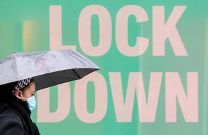Collins Dictionary named lockdown as its Word of the Year 2020 (Danny Lawson/PA)