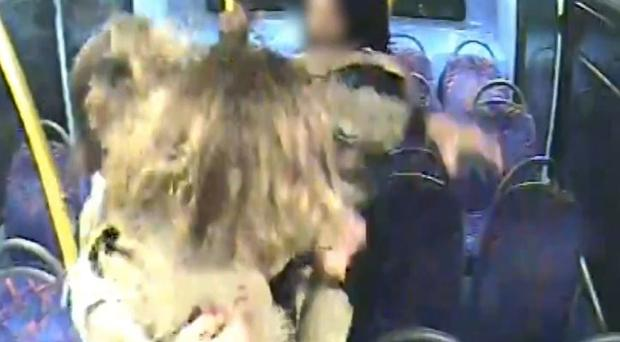 Melania Geymonat and her girlfriend Christine Hannigan were surrounded and attacked by teenagers on a night bus (Met Police/PA)